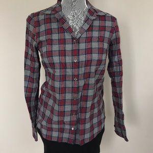 JCrew Boyfriend Flannel Shirt